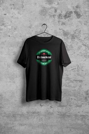 Comoestas Heineken Erkek Siyah Tshirt 0