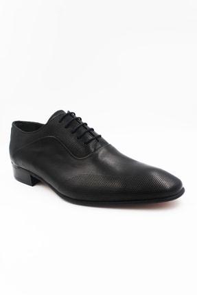 Hakiki Deri Siyah Kösele Ayakkabı Çbn100black ÇBN100