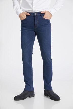 Avva Erkek Lacivert Slim Fit Jean Pantolon A02y3529 0