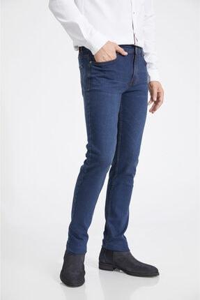 Avva Erkek Lacivert Slim Fit Jean Pantolon A02y3529 2
