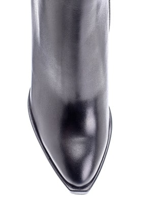 Derimod Kadın Deri Topuklu Bot 3