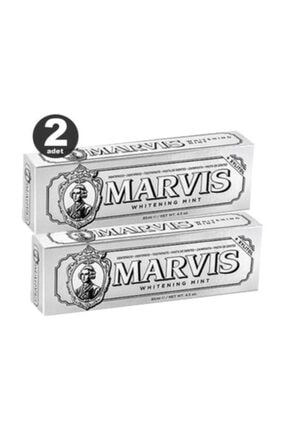 Marvis Whitening Mint Diş Macunu 85 ml X2 Adet 0