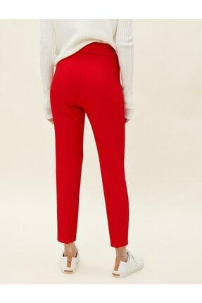 Koton Kadın Kırmızı Cigarette Pantolon 3