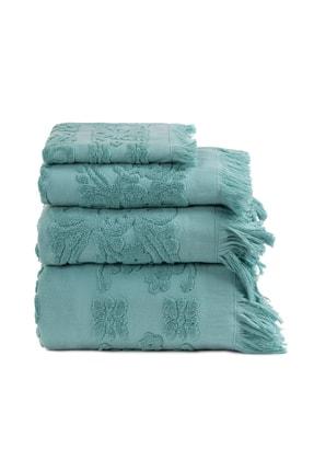 Arya Home Aqua Saçaklı İsabel Soft Havlu 100x150 0