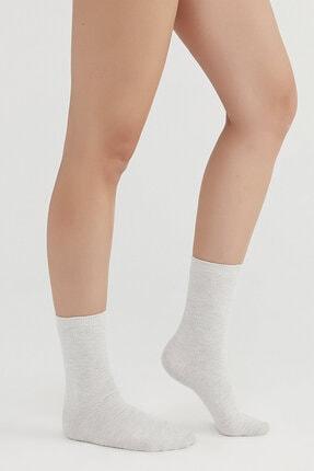 Penti Rose Beige Örgü Soket Çorap 2