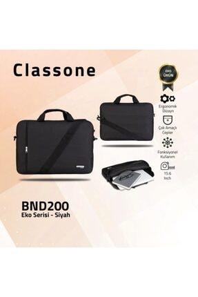 Classone Bnd200 Eko Serisi 15.6 Inç. Laptop, Notebook El Çantası-siyah 1