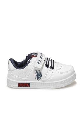 US Polo Assn CAMERON 1FX Beyaz Erkek Çocuk Sneaker 100909775 1