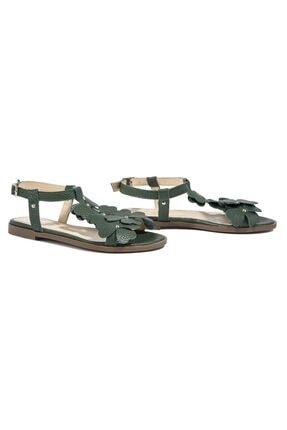Desa Belle Kadın Deri Sandalet 2