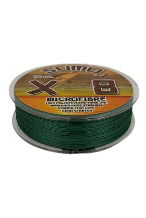 SUMO X8 Ip Misina 150m Polietilen Microfiber Ip Misina Yeşil 2