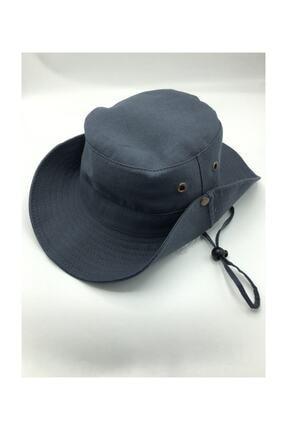 GONCA ŞAPKA Yazlık Katlanabilir Safari Fötr Şapkası 0