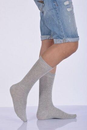Idilfashion 4'lü Paket - Likralı Penye Erkek Soket Çorabı - Bej E-art226 I4M226031821