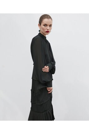 İpekyol Pilili Elbise 3