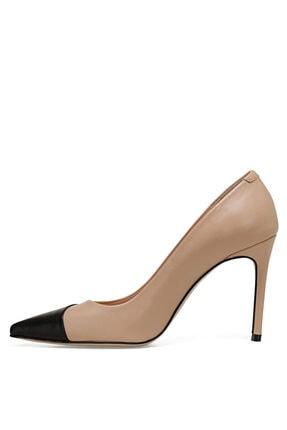 Nine West TRELO Naturel Kadın Hakiki Deri Topuklu Ayakkabı 100526680 3