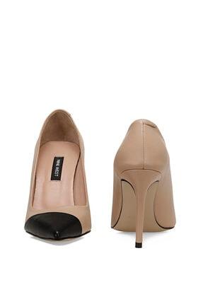Nine West TRELO Naturel Kadın Hakiki Deri Topuklu Ayakkabı 100526680 4