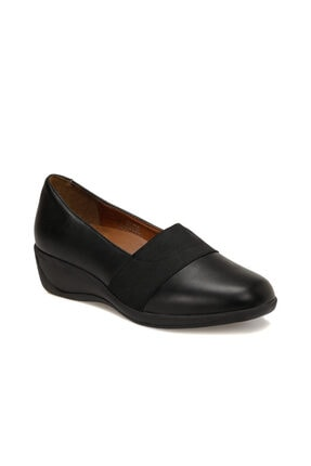 تصویر از 103104.Z Siyah Kadın Comfort Ayakkabı 100555122