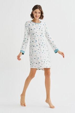 Penti Beyaz Me Time Termal Elbise 4