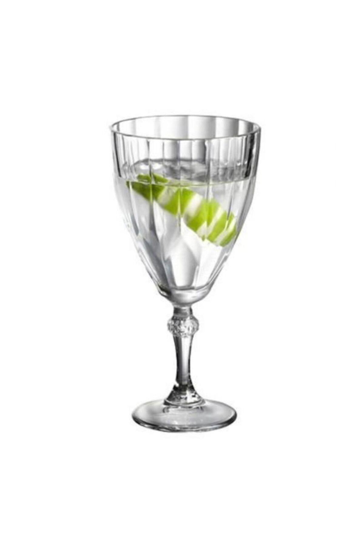 Paşabahçe 440113 Diamond Ayaklı Likör, Kahve Yanı Su Bardağı 6lı 49 Cc