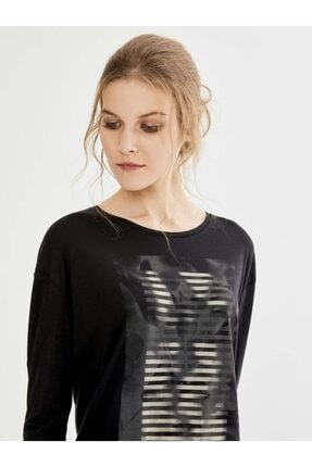 Xint Kadın Siyah Tişört 3