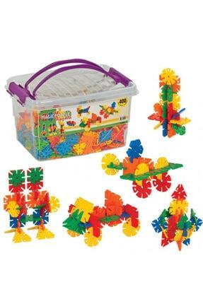 DEDE Lego Oyuncak Magic Puzzle Box 400 Parça 0