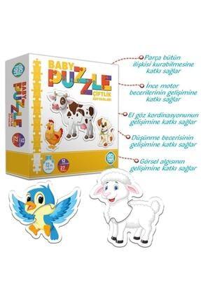 Circle Toys Baby Puzzle Çiftlik Hayvanları 1