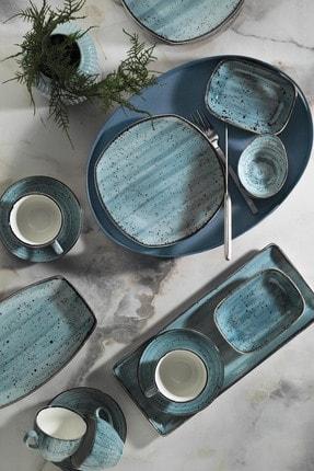 Kütahya Porselen Corendon Mavi 30 Parça Kahvaltı Takımı 0