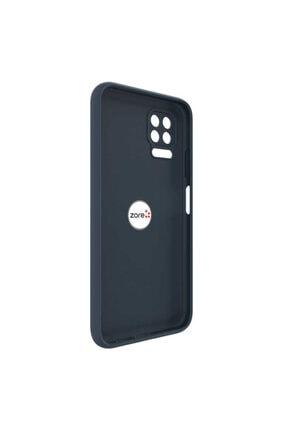 Dijimedia Huawei P40 Lite Kılıf El Izi Yapmayan Yüzüklü Mat Plex Silikon 1