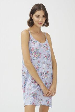 Penti Açık Mavi Oil Baskılı Elbise 1