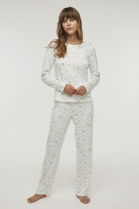 Penti Çok Renkli Gardener Termal Pijama Takımı 1