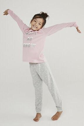Penti Çok Renkli Kız Çocuk Hot Tech Snow 2li Pijama Takımı 2