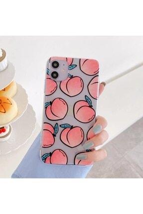 Mobildizayn Apple Iphone 11 Şeftali Desenli Kılıf 1