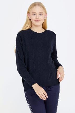تصویر از ژاکت کش باف پشمی زنانه کد 20K2115-32289.1-R0600