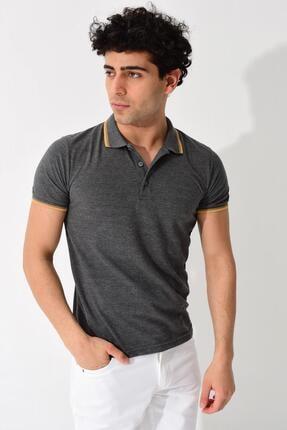 Tena Moda Erkek Füme Polo Yaka Tişört 2