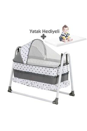 bebegen Elit Portatif Sallanır Bebek Beşik Gri 0
