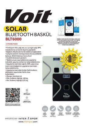 Voit Solar Bluetooth Baskül Blt 6000 Sıyah 1