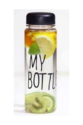 Online Çarşım My Bottle Detoks Cam Matara - Cam Şişe 500 ml (Siyah) 1