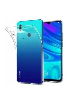 Telefon Aksesuarları P Smart 2019 - Honor 10 Lite Toz Koruma Tıpalı Ultra Ince Şeffaf Silikon Kılıf 0