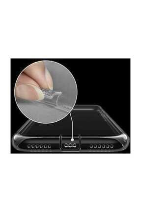 Telefon Aksesuarları P Smart 2019 - Honor 10 Lite Toz Koruma Tıpalı Ultra Ince Şeffaf Silikon Kılıf 1
