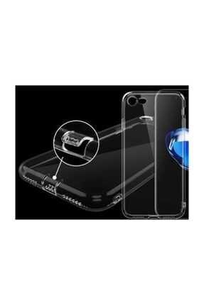 Telefon Aksesuarları P Smart 2019 - Honor 10 Lite Toz Koruma Tıpalı Ultra Ince Şeffaf Silikon Kılıf 2