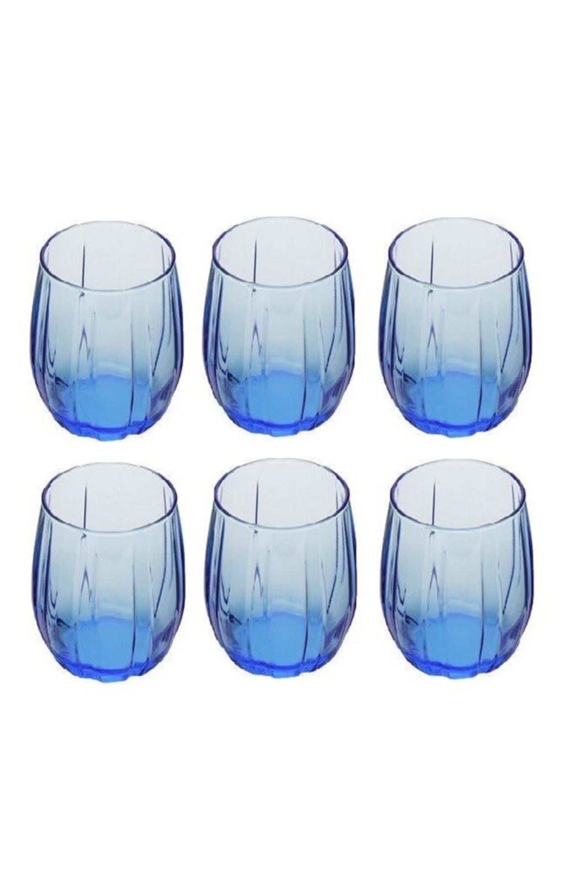 420302 Mavi Linka Su Bardağı 240 Cc 6 Lı