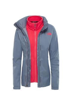 The North Face Triclimate Jacket Kadın Gri-pembe (Nf00cg566vwth-63) 0