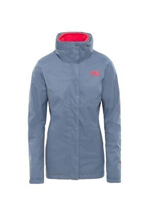 The North Face Triclimate Jacket Kadın Gri-pembe (Nf00cg566vwth-63) 1