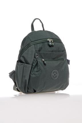 Smart Bags Kadın Sırt Çantası Orta Boy 1246 05 Haki 1