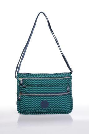 Smart Bags Smb1128-0066 Lacivert/yeşil Kadın Çapraz Çanta 0
