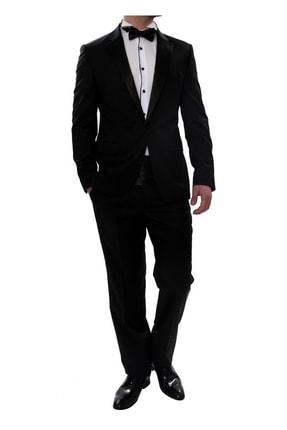 تصویر از 029 Slim Fit Siyah Black Takım Elbise