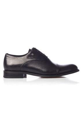 MARCOMEN Siyah Hakiki Deri Bağcıklı Erkek Klasik Ayakkabı • A19eymcm0022 0