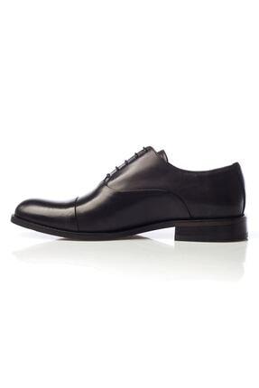 MARCOMEN Siyah Hakiki Deri Bağcıklı Erkek Klasik Ayakkabı • A19eymcm0022 2