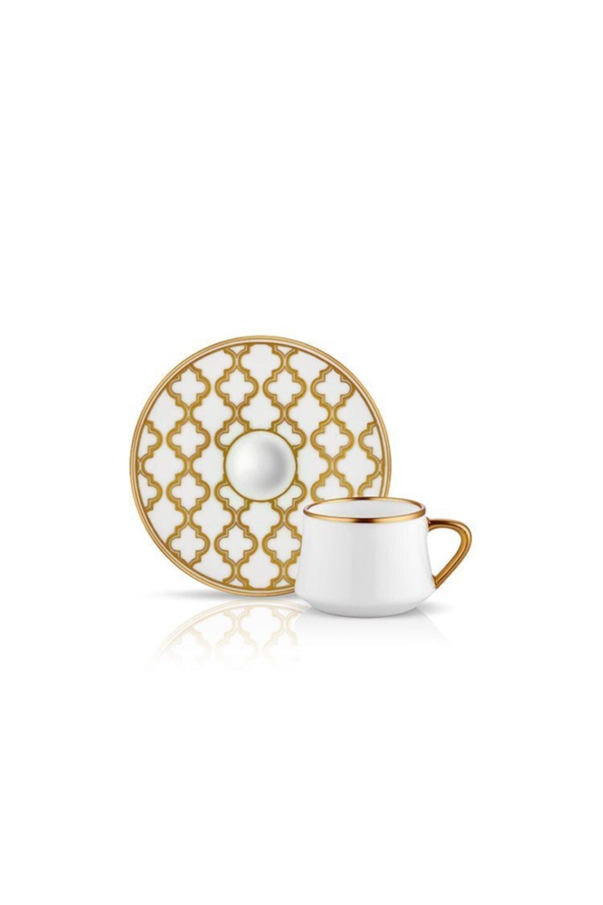Koleksiyon Sufi Türk Kahve Seti Viyana Altın