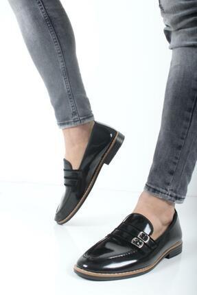 Oksit Bonar Çift Toka Erkek Klasik Ayakkabı 0