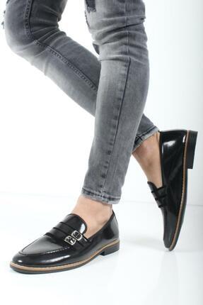Oksit Bonar Çift Toka Erkek Klasik Ayakkabı 2