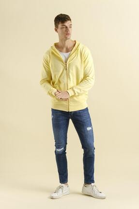 Oksit Lgg Eza Fermuarlı Kapüşonlu Sweatshirt 1